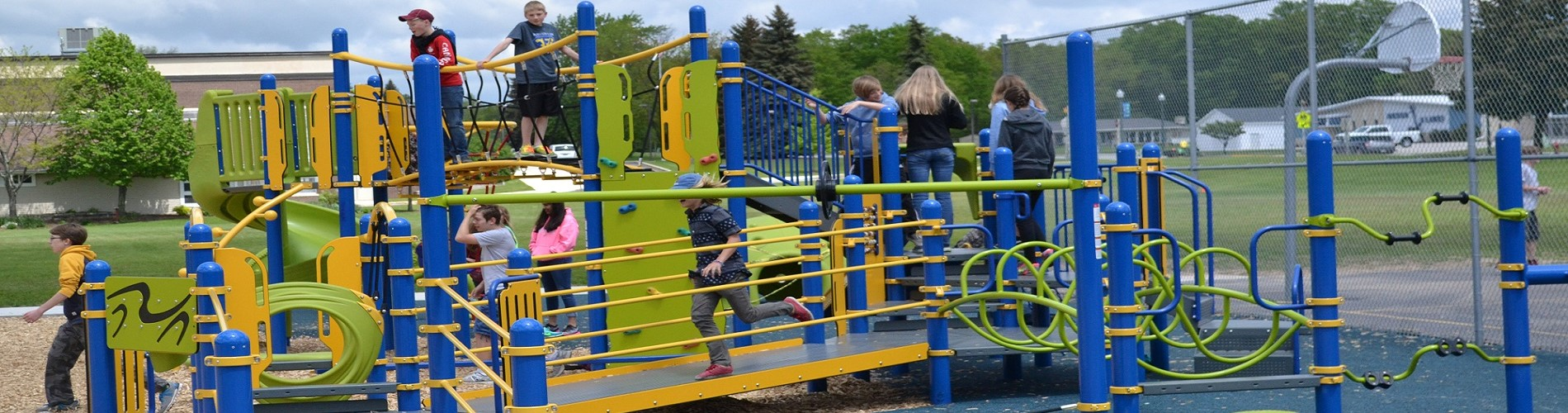 Playground in use