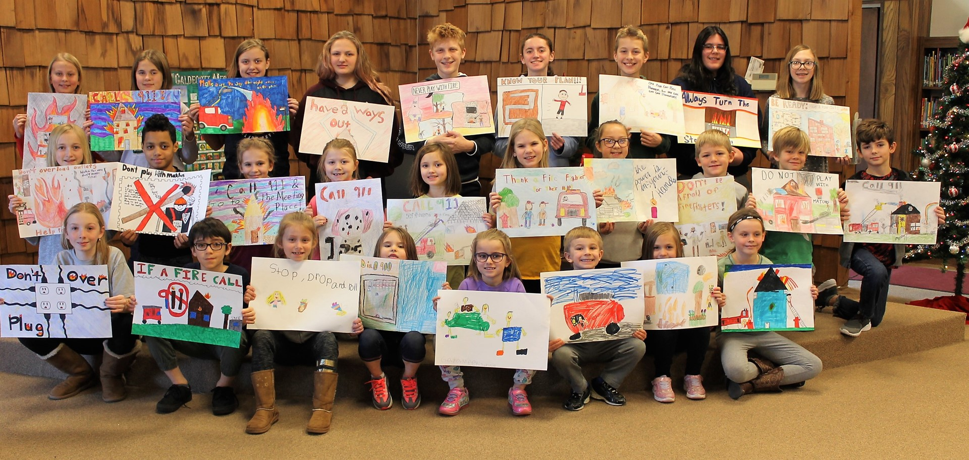 Fire Prevention Poster Winners 2020