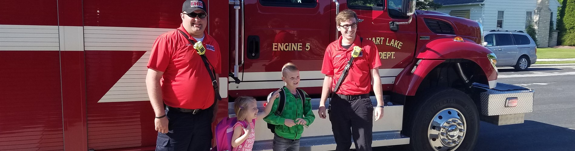 Fire Prevention - Ride to School on a Firetruck